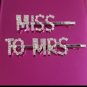 Miss to Mrs. HairClip